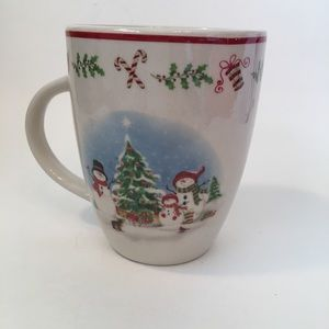 Christmas Snowman Family Mug 12oz